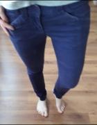 fioletowe spodnie rozm s