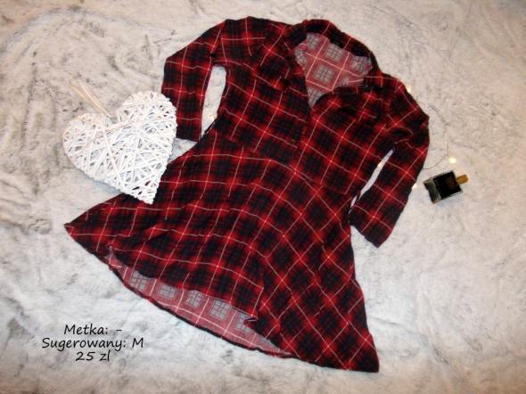 Suknie i sukienki Sukienka w kratę M