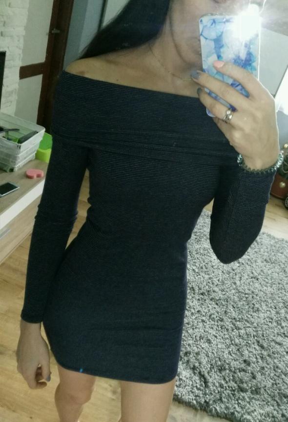 zara sukienka odkryte ramiona xs mega paski