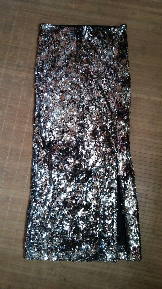 Spódnice Spódnica długa cekinowa