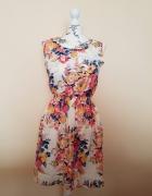 sukienka letnia kwiaty