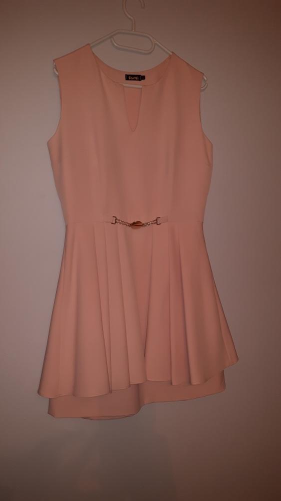 Sukienka śliczna rozkloszowana L 40