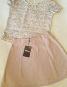 komplet Missguided top i spódnica M L