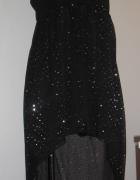 damska sukienka dłuższy tył ROZM 40 L