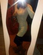 sweterek tunika sukienka