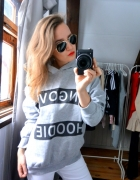 Bluza szara hangover hoodie