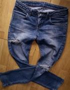 jeansy z dziurami biodrówki Big star Levis lee r Xs S