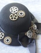 Kapelusz kapelusik steampunk victorian motyl mini