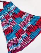 monsoon sukienka wzorzysta wiązana na szyi rozmiar 40...