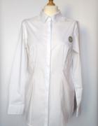 Biała elegancka klasyczna koszula George