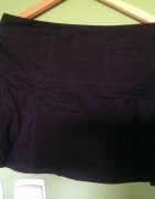 krótka czarna spódniczka H&M
