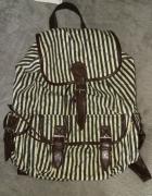 Plecak w pasy