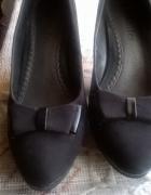 pantofle czarne 38