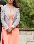 sukienka 2w1 maxi mini