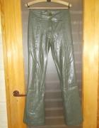 Spodnie skóropodobne różne...