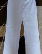 Białe spodnie L 15zł