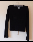 Karen Millen czarna sexy bluzka 34 36