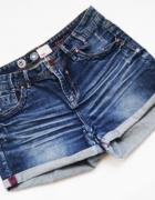 new look dżinsowe krótkie spodenki szorty jeans rozmiar 40