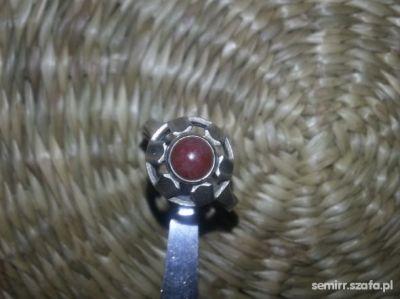 Pierścionki stary srebrny pierscionek WARMET oddział AGAT kopł