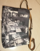Kopertówka torebka z panoramą Parfois