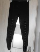 Calzedonia legginsy sznurowane wiązane z tyłu