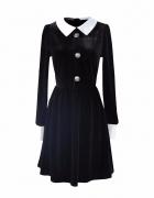 Czarna sukienka Dolls kill