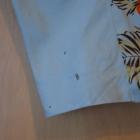 ołowkowa spódnica kwiaty