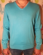 Sweter błękitny Zara rozmiar L...