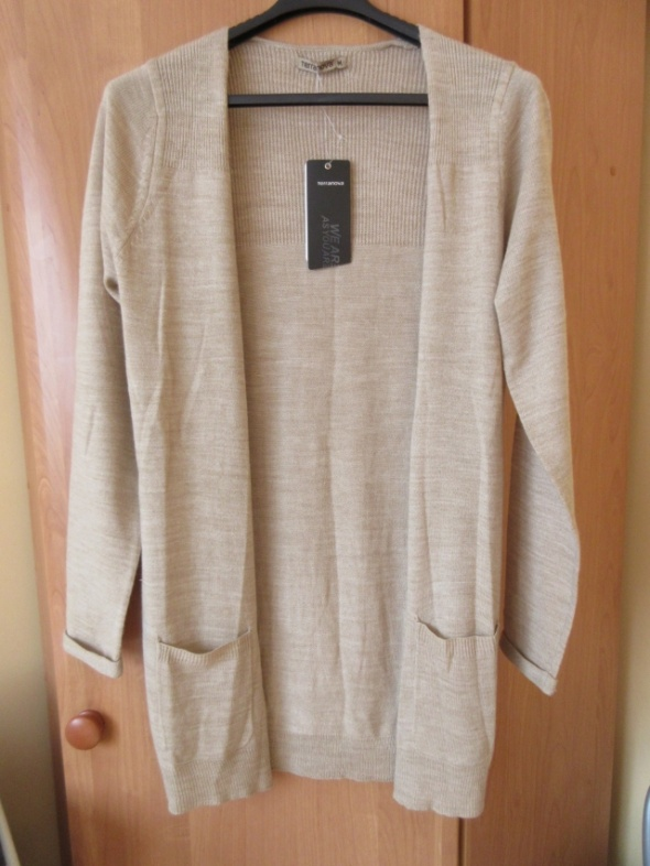 Kardigan długi sweter Terranova NOWY roz M