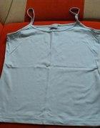 błękitna koszulka na ramiączka