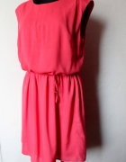 Malinowa sukienka r 4244