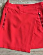 dunnes stores spódnica pomarańczowa zip nowa 38