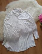 closet koszula kremowa z wycięciem z tyłu 38 m...