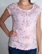 Śliczna bluzeczka w kwiatki floral nowa r 32 34