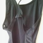 Czarny strój kąpielowy ARENA