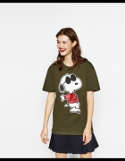 Tshirt snoopy Zara
