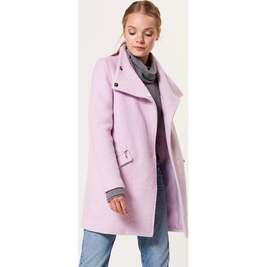 Płaszcz płaszczyk MOHITO wełna różowy...