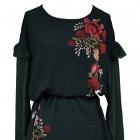 sukienka w piękne kwiaty