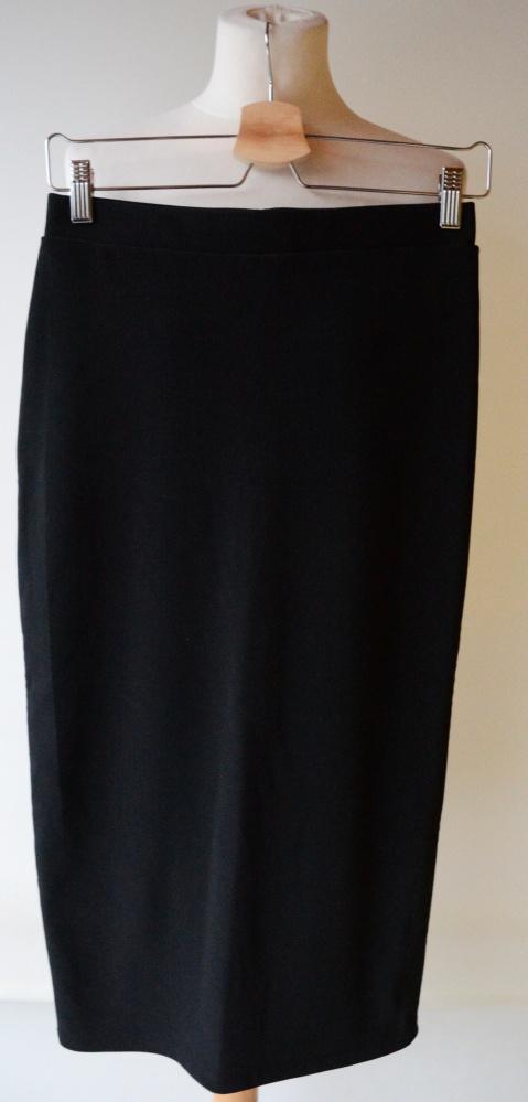 Spódnice Spódniczka Czarna Maxi Long Ołówkowa Monki S 36