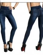 Spodnie tregginsy jegginsy jeans jeansy 50 52 54...