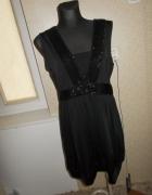 Czarna sukienka bombka Evie uk18 46...