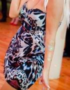 Cudowna sukienka panterka okazja...