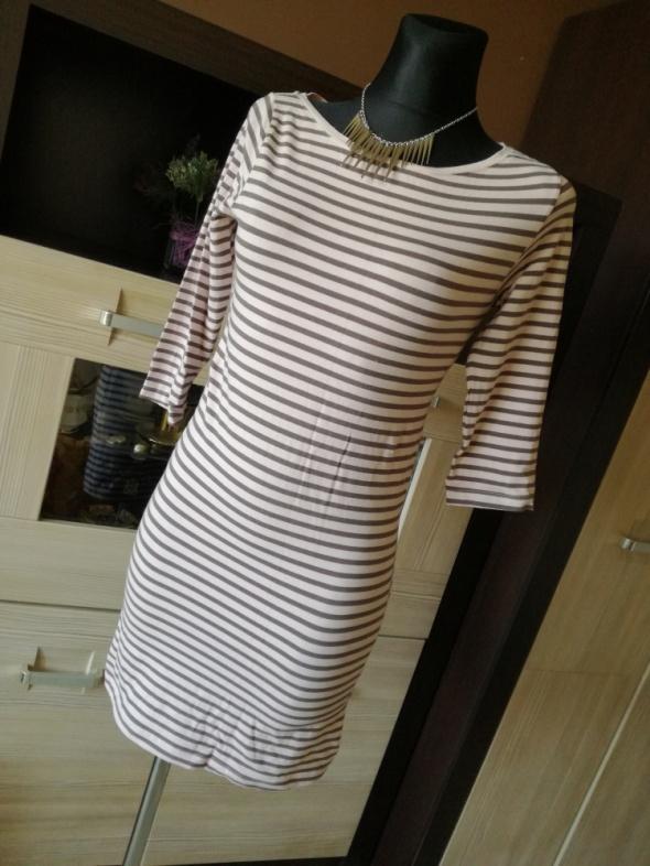 Suknie i sukienki Sukienka Vila w paski XS S