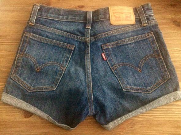 Spodenki jeansowe Levis