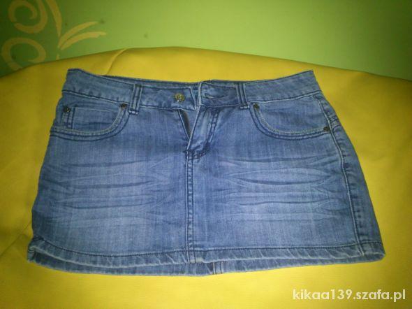 Spódnica jeansowa krótka spódniczka POLECAM