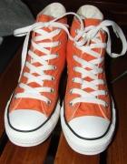 Oryginalne Pomarańczowe Trampki Converse 365