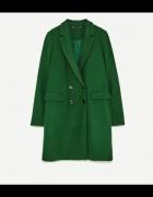 szukam Zielony płaszcz ZARA rozm L...