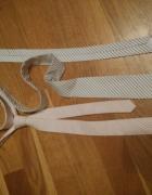 2 krawaty w paseczki