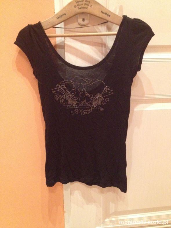 Czarna bluzeczka H&M S 36...