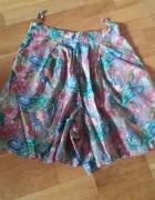 Kolorowe spodnicospodenki 32 34 XS S...